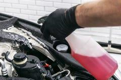 Cars in a carwash. Car wash with foam in car wash station. Carwash. Washing machine at the station. Car washing concept. Car detai. Ling stock photography