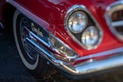 Classic Vintage Rides - Cars and Coffee stock images
