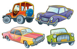 Cars Collection Stock Photos