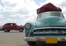 Cars in Cuba Royalty Free Stock Photos