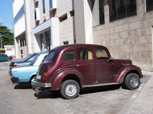 Cars Of Cuba Royalty Free Stock Images