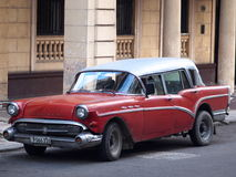 Cars Of Cuba Royalty Free Stock Photography