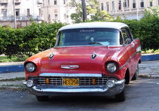 Cars Of Cuba Royalty Free Stock Photo