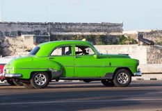 Cars Of Cuba Royalty Free Stock Photos