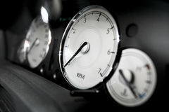 Cars dashboard Royalty Free Stock Images