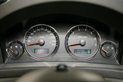 Cars dashboard Stock Images