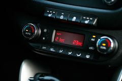 Cars Dashboard Climate Controle. Car concept 2.0. Cars Dashboard Climate Controle. Car concept 2 Cars Dashboard Climate Controle. Car concept 2 royalty free stock photo