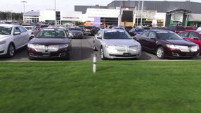 Cars, Dealership, For Sale, New and Used stock video
