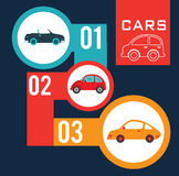 Cars design Stock Photos
