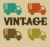 Cars design. Over beige  background vector illustration Stock Photos
