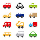 Cars design Royalty Free Stock Photography