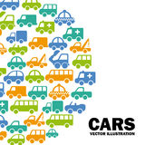 Cars design Royalty Free Stock Images