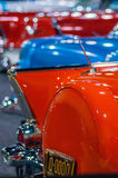 Cars on display at an autoshow Royalty Free Stock Images