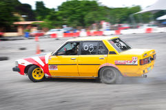 Cars drifting Stock Photos
