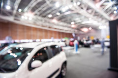 Cars in an exhibition Royalty Free Stock Images