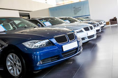 Free Cars For Sale In Showroom  Royalty Free Stock Photo - 29239605