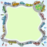 Cars frame Royalty Free Stock Photography