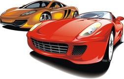Cars of future (my original automobile design) Stock Images