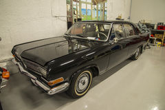 Cars in a garage, 1965 opel kaptein Royalty Free Stock Photography