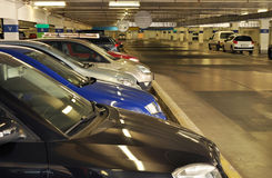 Cars garage Royalty Free Stock Photography