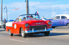 Cars of Havana, Cuba Royalty Free Stock Photography