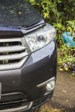 Cars headlight Royalty Free Stock Image