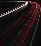 Cars on a highway Royalty Free Stock Photo