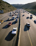 Cars on highway Stock Photography