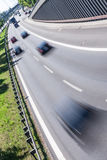 Cars on highway Stock Photo