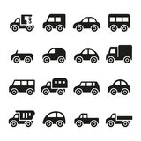 Cars icon set Stock Image