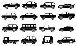 Cars icons set Stock Photo