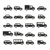 Cars icons Stock Photo