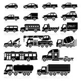 Cars icons. Vector illustration. Stock Image