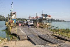 Free Cars Inside Of Ferry Boat Royalty Free Stock Photography - 114639827