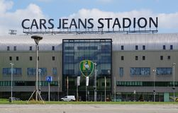 Cars Jeans Stadion in the Hague, the Netherlands Royalty Free Stock Image