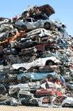 Cars junkyard Stock Photos