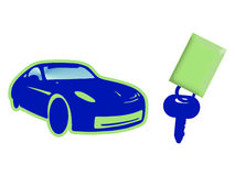 Cars key Royalty Free Stock Image
