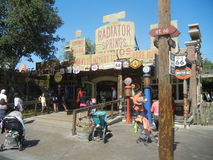 Cars Land stock photography