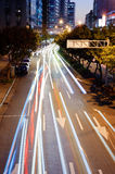 Cars light Royalty Free Stock Images