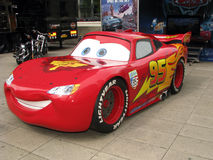 The cars - Lightning McQueen Stock Images