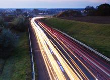 Cars lights Royalty Free Stock Photos