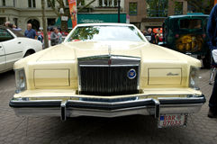 Cars Lincoln Continental Mark V Stock Image