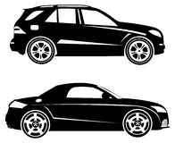 Cars logo template Stock Images