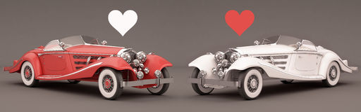 From cars with love Royalty Free Stock Image