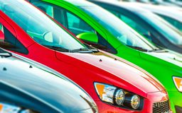 Cars Marketplace Stock Photos