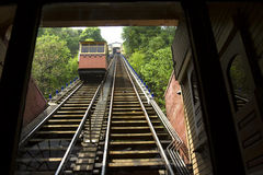 Cars on Monongahela Incline Stock Image