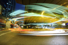 Cars motion blur Stock Photography