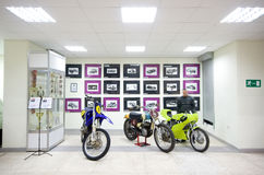 Cars and motorcycle show in Vilnius Stock Image