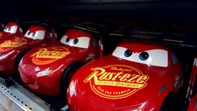 Cars movie toys. stock images
