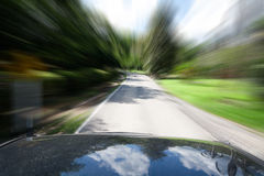 Cars moving Royalty Free Stock Photos